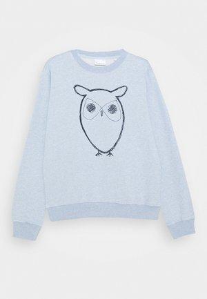 LOTUS OWL - Sweatshirt - light blue