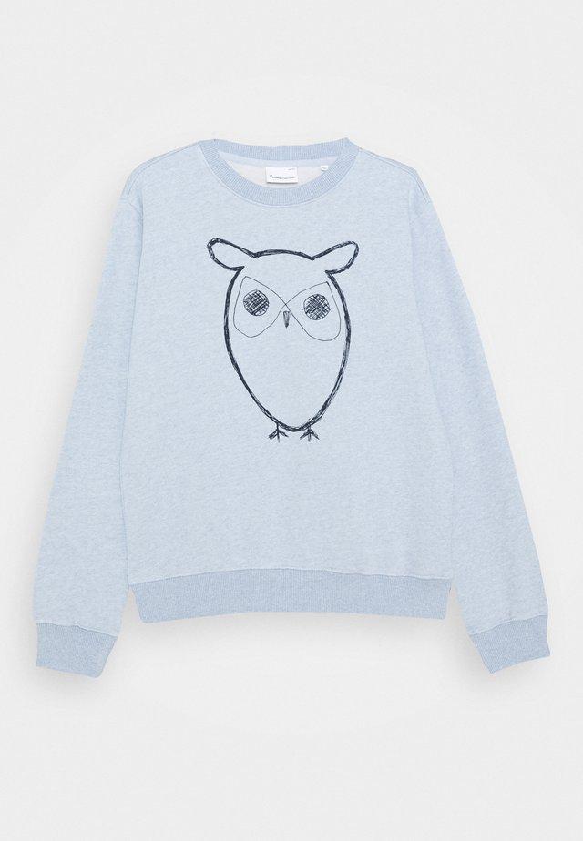 LOTUS OWL - Collegepaita - light blue