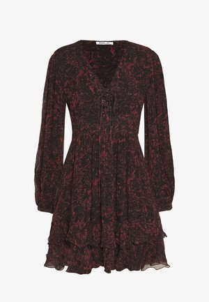 DRESSES - Sukienka letnia - red/black