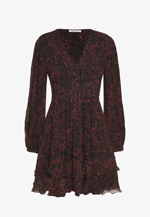 DRESSES - Vestito estivo - red/black
