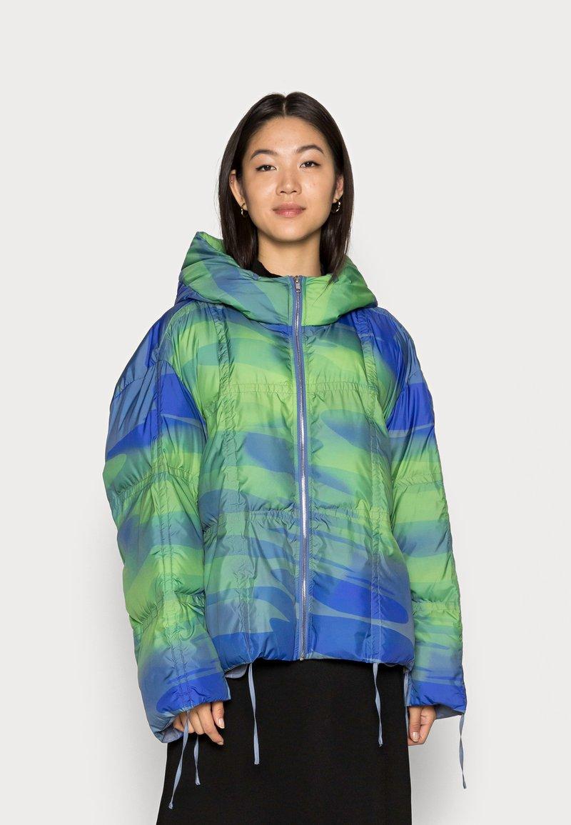 HOSBJERG - DONNA TAMARA JACKET - Winter jacket - mermaid blue/green