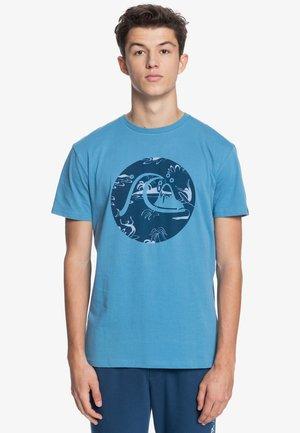 BUBBLE JAM  - Print T-shirt - blue heaven