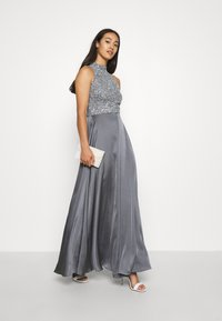 Lace & Beads - LIZA MAXI - Occasion wear - charcoal grey - 1