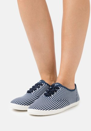 Trainers - dark blue/white