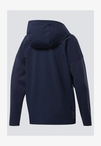 Reebok - UNITED BY FITNESS CONTROL HOODED JACKET - Cortaviento - blue - 1