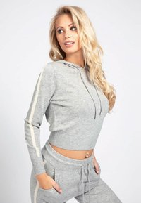 Guess - Jersey con capucha - light grey - 0