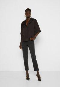 DESIGNERS REMIX - EMME  - Button-down blouse - black - 1