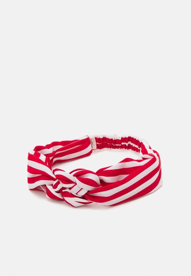 STRIPED HAIRBAND - Accessori capelli - fiery red