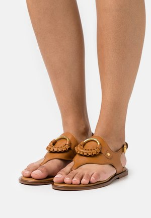 HANA - T-bar sandals - tan