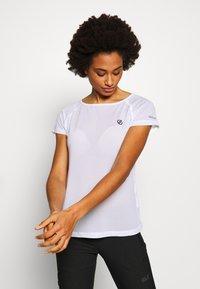 Dare 2B - DEFY TEE - T-shirt med print - white - 0