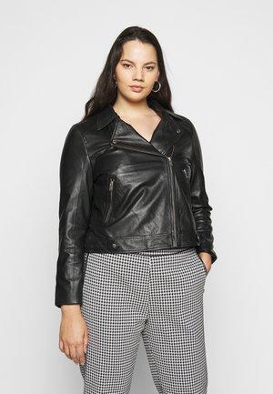 SLFKATTY  JACKET - Leather jacket - black