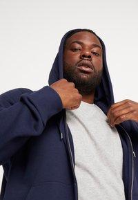 GANT - THE ORIGINAL FULL ZIP HOODIE - Zip-up hoodie - evening blue - 3