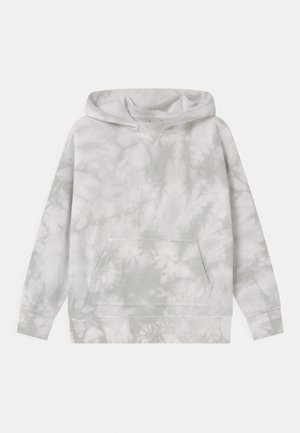 BOY TIE DYE HOOD - Sweater - grey