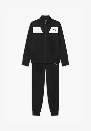 POLY SET UNISEX - Trainingsanzug - puma black