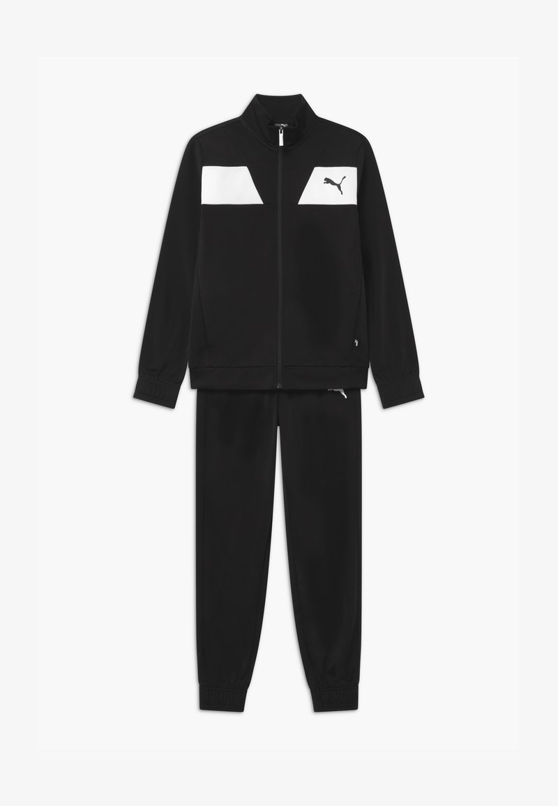 Puma - POLY SET UNISEX - Trainingspak - puma black