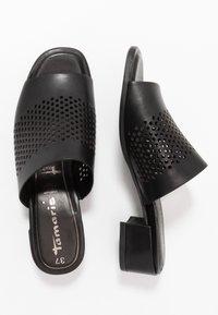 Tamaris - SLIDES - Sandaler - black - 3