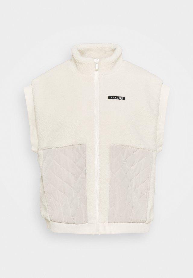 ADDIE WAISTCOAT - Waistcoat - broken white