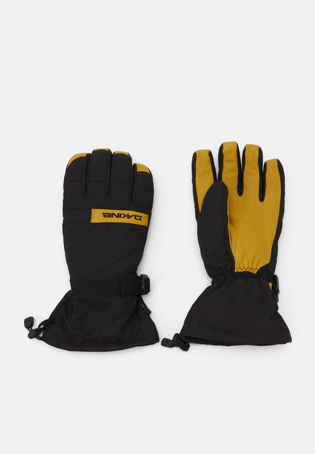 NOVA GLOVE - Fingervantar - black/tan