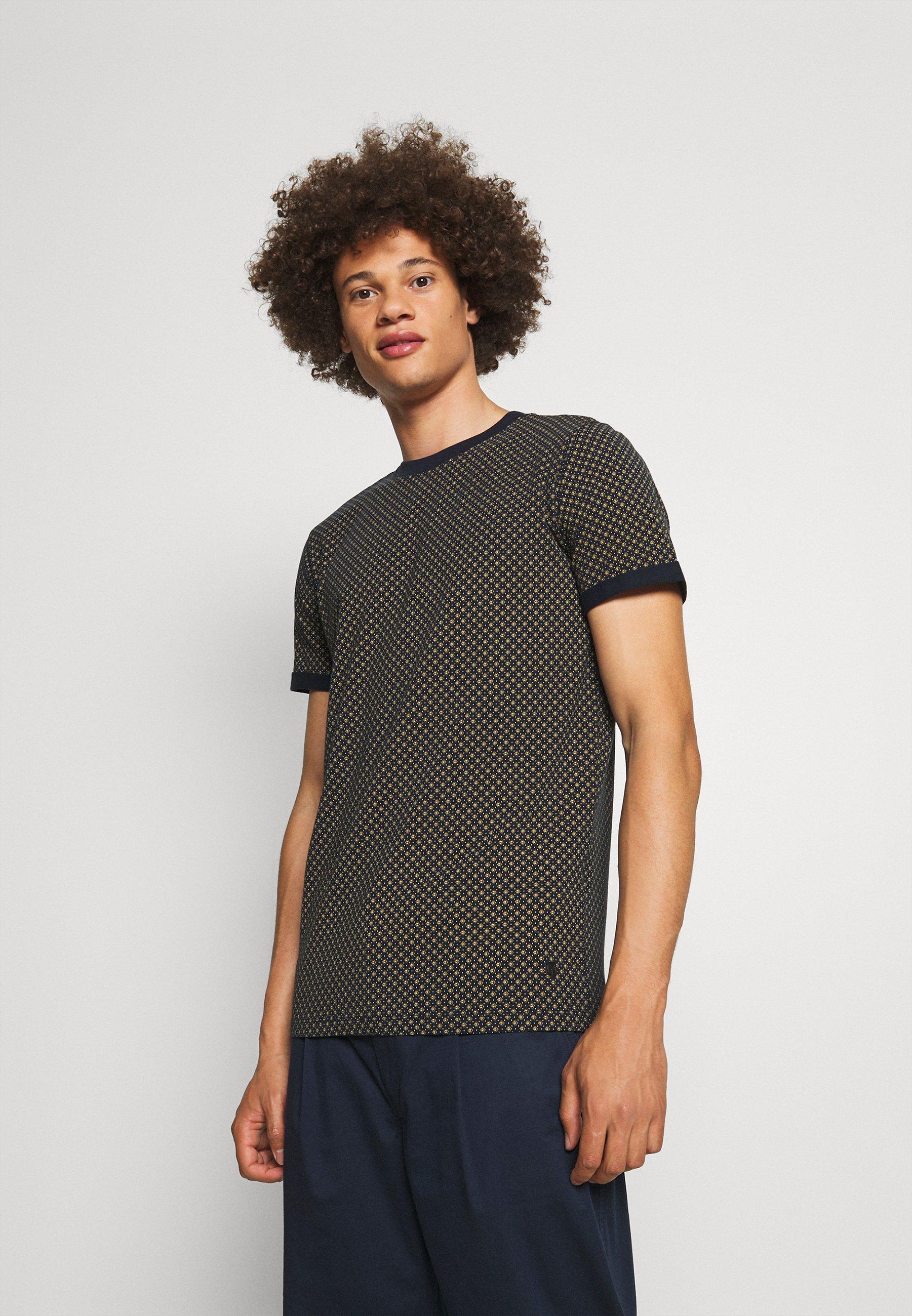 Homme JPRBLALOGO STRETCH - T-shirt imprimé