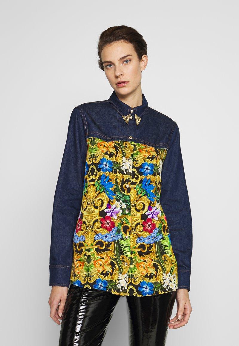 Versace Jeans Couture - LADY SHIRT - Button-down blouse - mult scuri