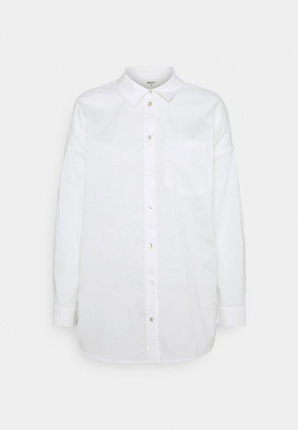 Object OBJMACY - Koszula - cloud dancer/biały UHDJ