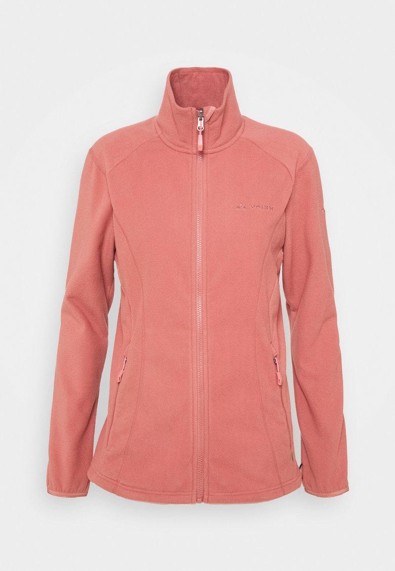 Vaude - WOMENS ROSEMOOR JACKET - Fleece jacket - dusty rose