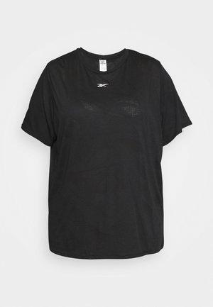 BURNOUT TEE IN - Basic T-shirt - black