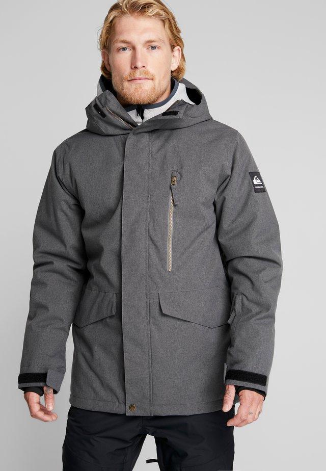 MISSION - Veste de snowboard - black heather
