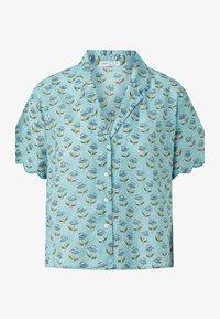OYSHO - Button-down blouse - turquoise - 3
