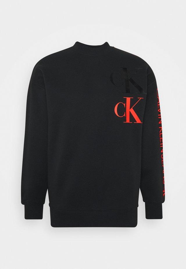 FASHION MOCK NECK UNISEX - Sweatshirt - black