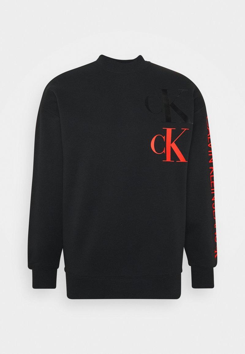 Calvin Klein Jeans - FASHION MOCK NECK UNISEX - Sweatshirt - black