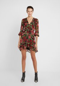 The Kooples - ROBE - Shirt dress - red/black - 0