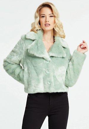 KUNSTFELL KURZ - Winter jacket - grün