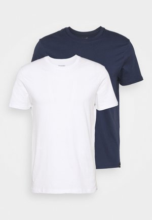 TEE 2 PACK - T-shirt basic - navy