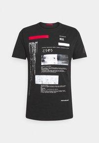 Gianni Lupo - T-shirt imprimé - black - 4
