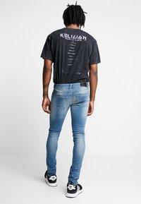 Religion - HERO - Jeans Skinny - ripper blue - 2