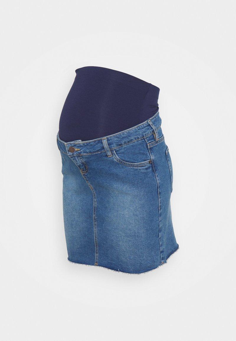 MAIAMAE - MINI SKIRT - Spódnica mini - mid wash