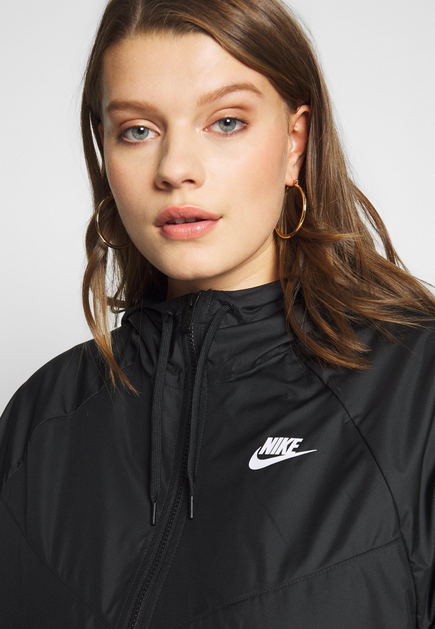 Nike Sportswear PLUS Lett jakke blacksvart Zalando.no