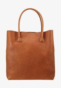 ELSA PLAIN TOTE - Shopping bag - cognac