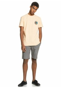 Quiksilver - MELLOW PHONIC  - Print T-shirt - apricot - 1