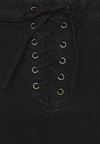 Missguided Tall - VICE HIGH WAISTED - Skinny džíny - black - 5