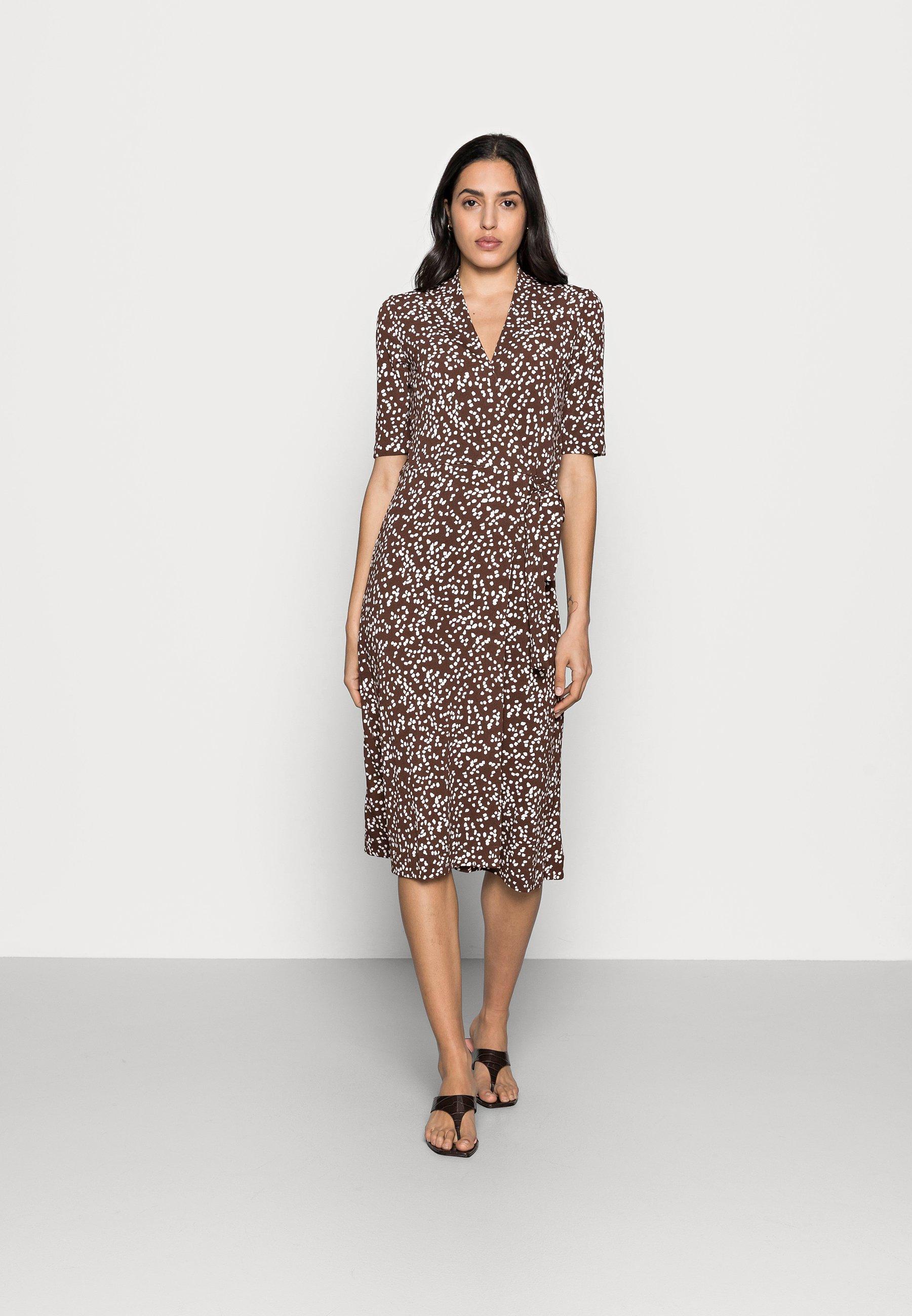 Women BEN WRAP DRESS - Jersey dress