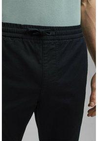 Esprit Collection - FASHION - Tracksuit bottoms - black - 5