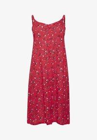 Kaffe Curve - Day dress - red flower print - 6