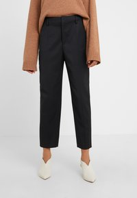 Filippa K - KARLIE TROUSER - Trousers - black - 0