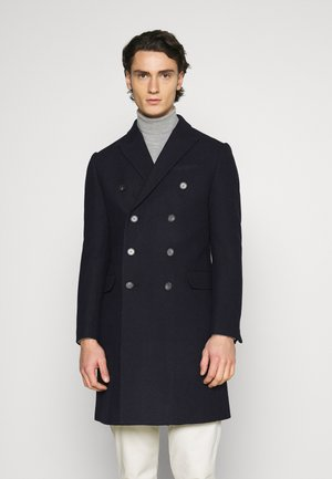 PEAK COAT - Villakangastakki - dark blue