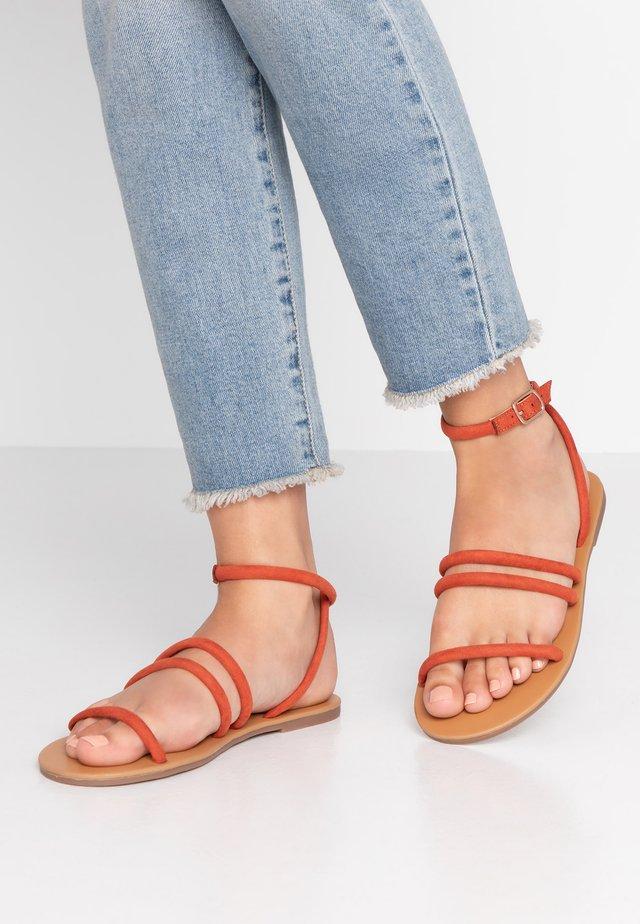 TUBULAR - Sandals - rust