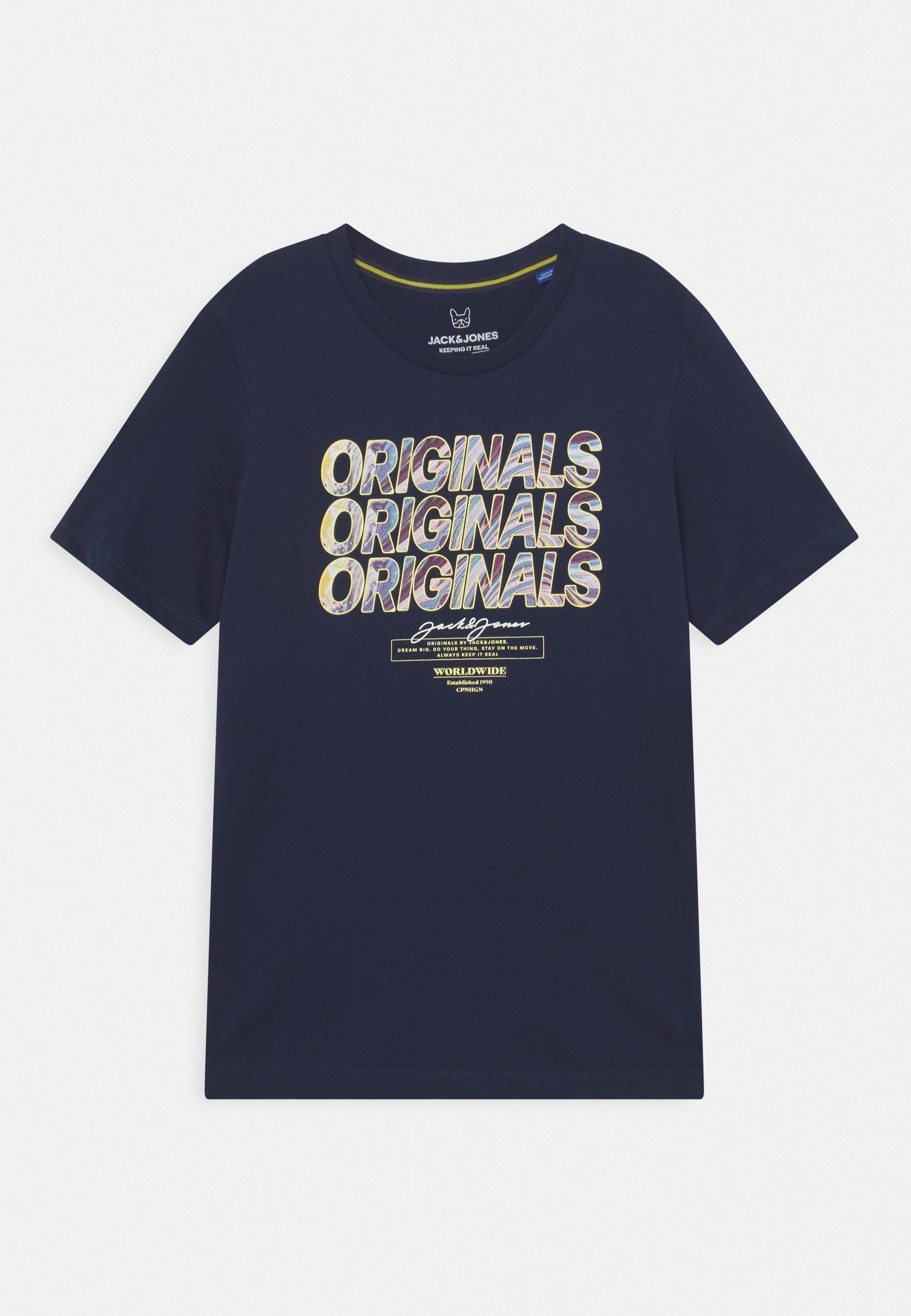 Bambini JORSWIRL TEE CREW NECK JR - T-shirt con stampa