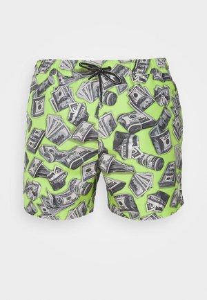 DOLLAR BILLS SWIM - Swimming shorts - green