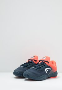 Head - SPRINT 2.5 JUNIOR - Allcourt tennissko - midnight navy/neon red - 3